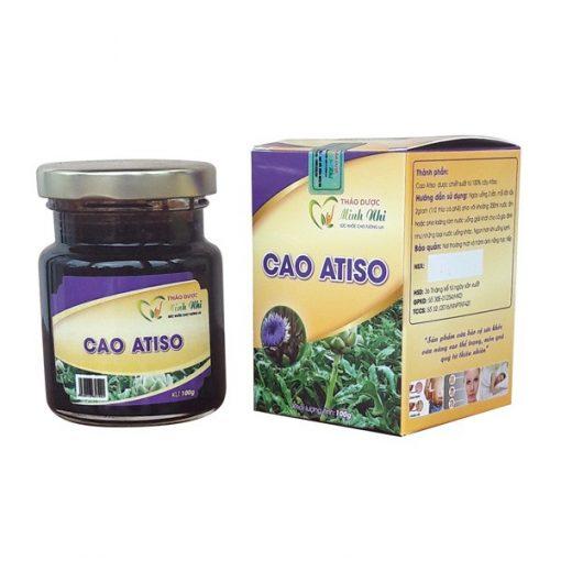 Cao Atiso trị mụn tận gốc, mát gan, thanh lọc cơ thể